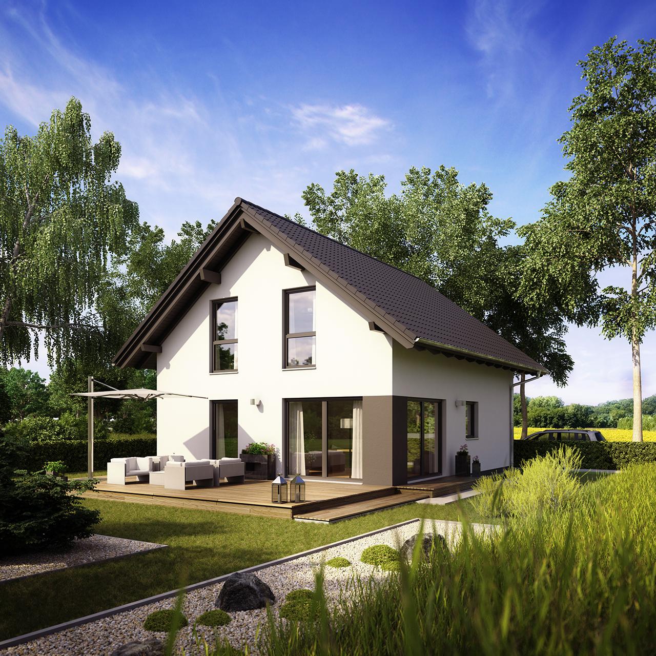 Fingerhaus neo 311  MEDLEY 3.0 mit 1,00 m Kniestock - Bauplanung Harald Skroch